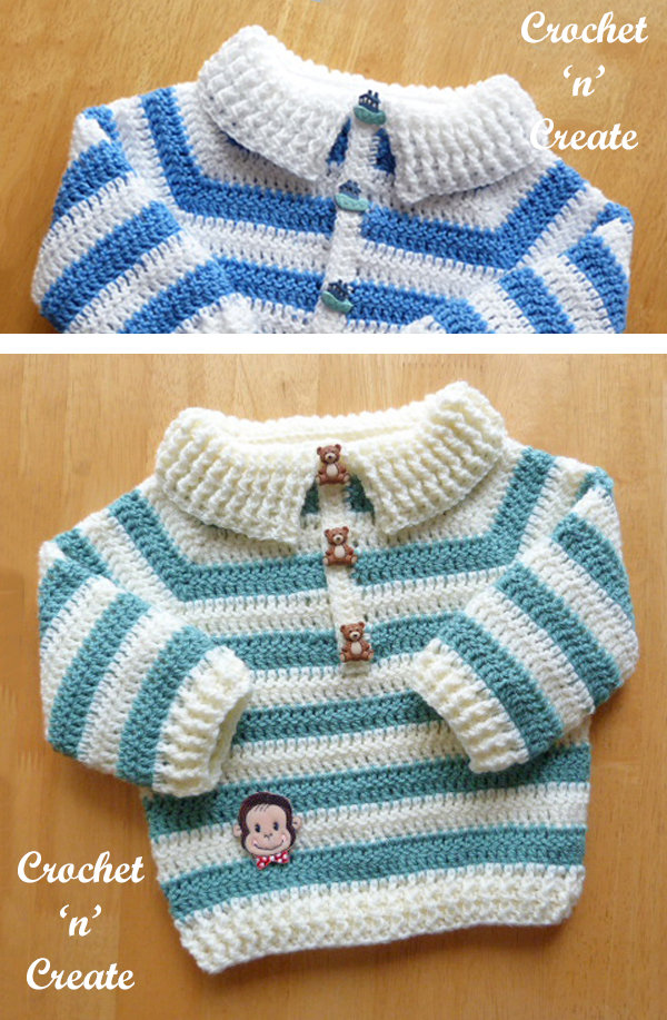 button placket sweater