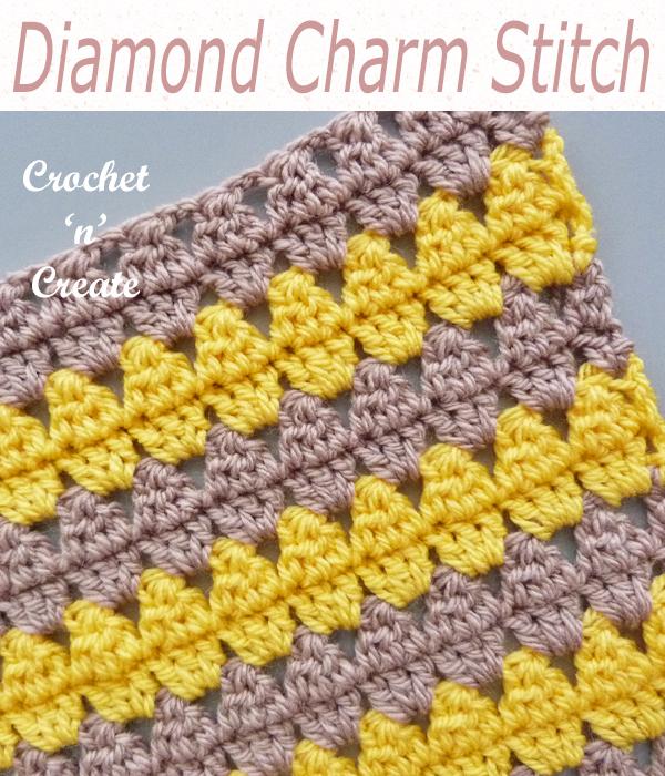 diamond charm stitch