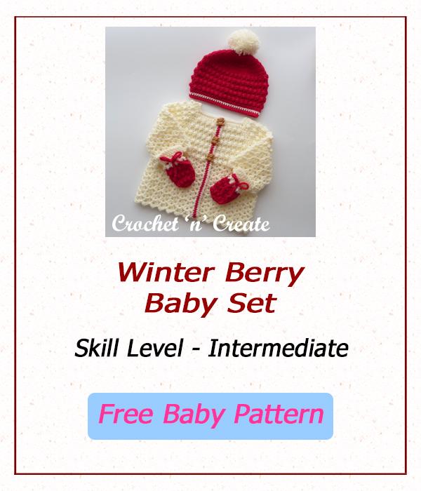 winter berry baby set
