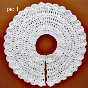 free baby crochet yoke pattern