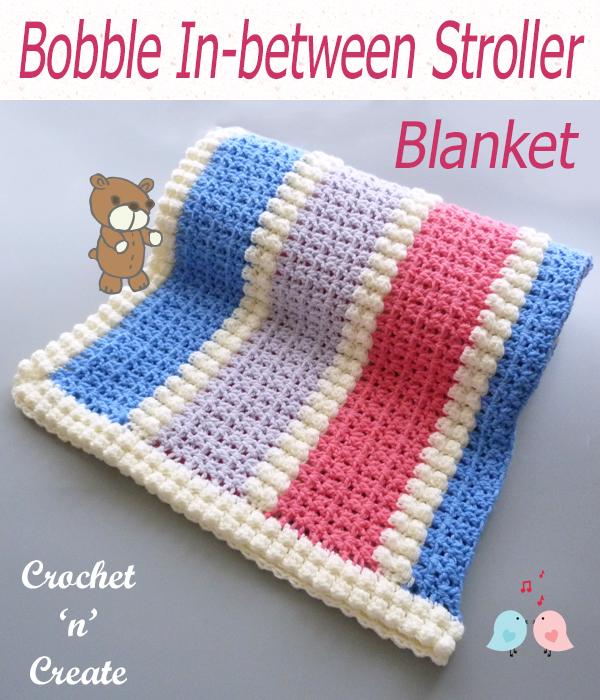 bobble in-between stroller blanket