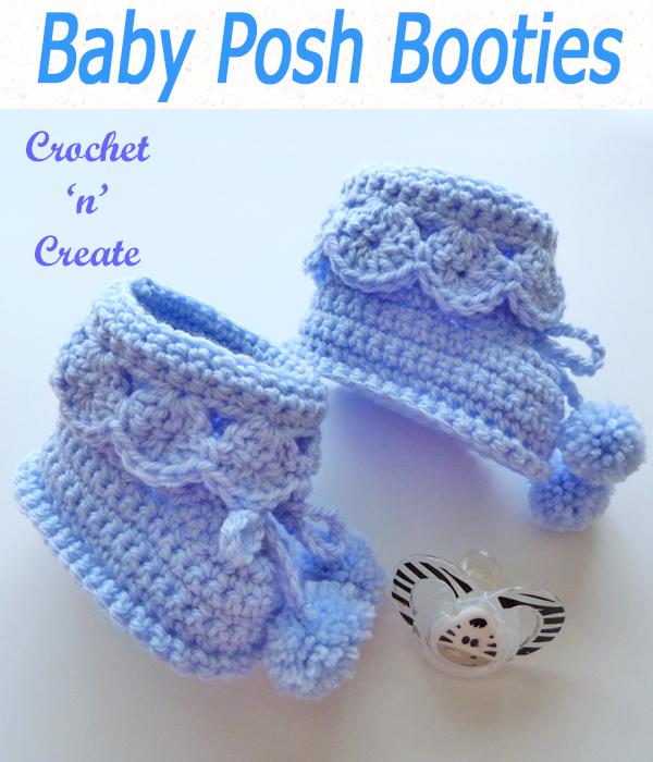 baby posh booties