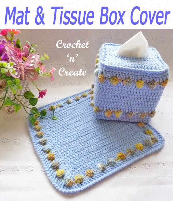 mat & tissue box cover
