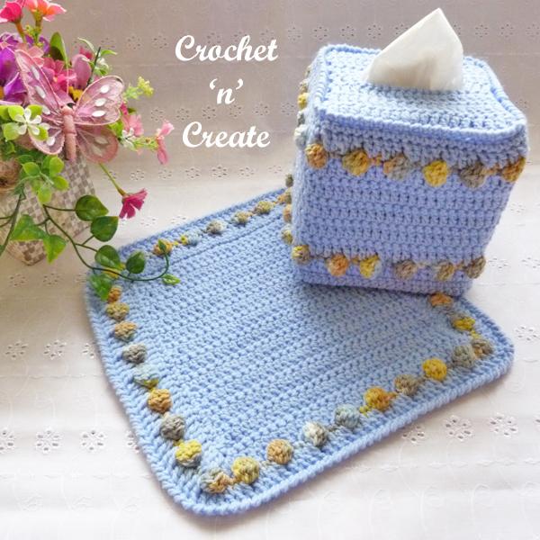 mat-tissue box cover