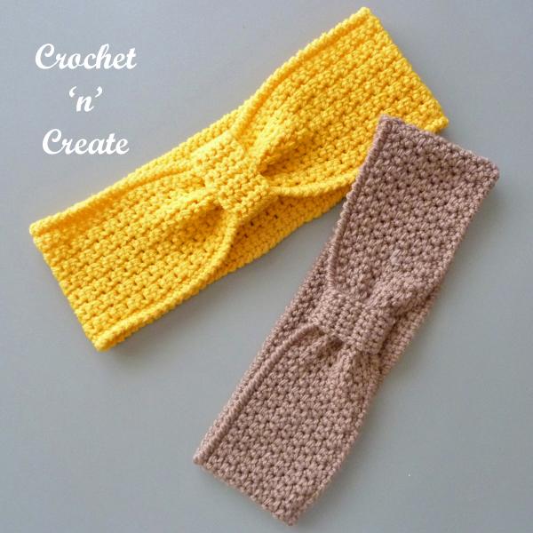 autumn breeze crochet earwarmer