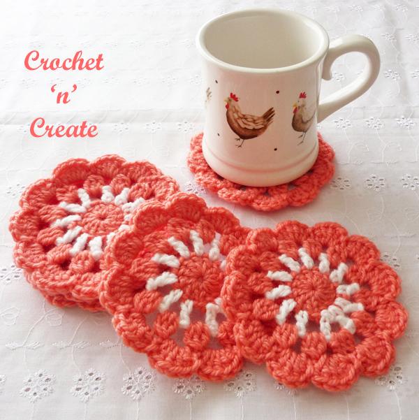 mug coaster crochet pattern